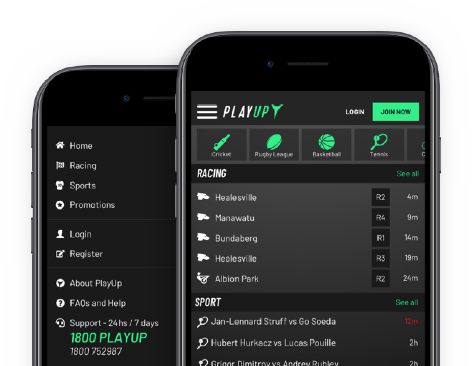 PlayUp mobile review and apps download