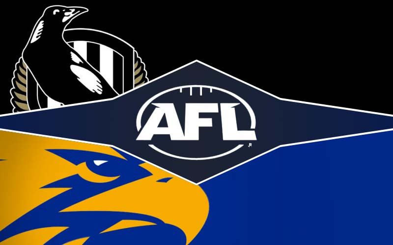 Collingwood v West Coast tips and prediction, AFL rd 20 preview