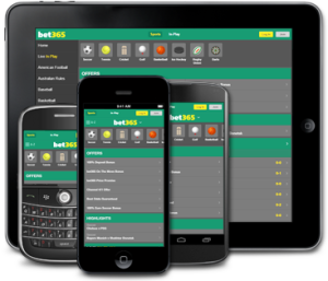 mobile sports betting bet365