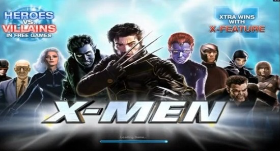 Slots like X-Men are incredibly popular at online casinos