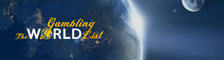 World Gambling List Banner
