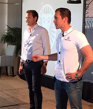 Gustaf Hagman and Robin Ramm