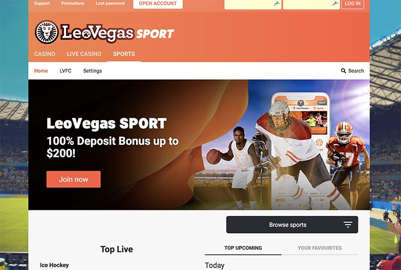 leovegas sports betting review