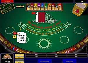 Atlantic City blackjack - where to play online