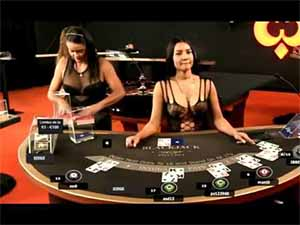 Live baccarat at an online casino accepting bitcoin