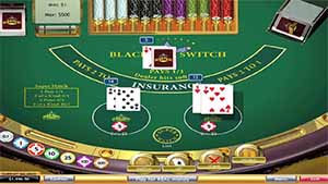 Play Blackjack Switch online for real money