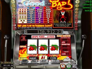 It S Good To Be Bad Review Best Slots Casinos To Play Rtg Games