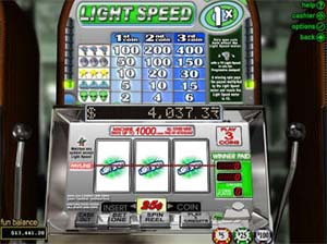 Light speed online slot review