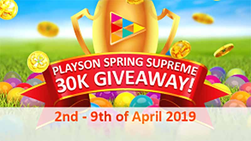 Playson Casinos Giving Away 30K In Real Money | Supreme Spring Promo