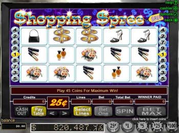 Shopping Spree online slot