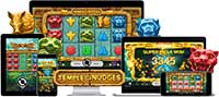 Temple of Nudges online slot game by NetEnt