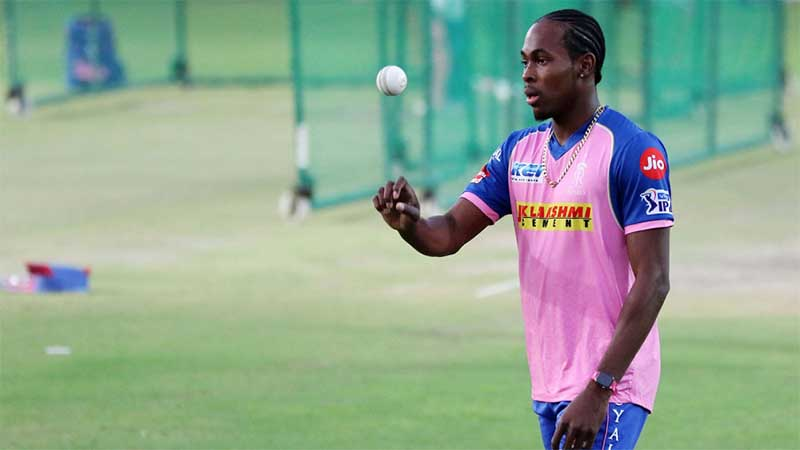 Jofra Archer has not been named in England's World Cup squad