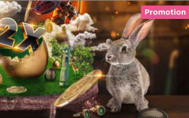 Mr Green Easter Cash Hunt - Casino Bonus for Canadians