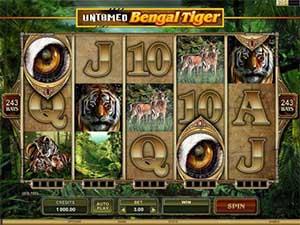 Untamed Bengal Tiger slot review