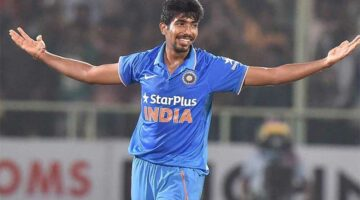 Indian superstar Jasprit Bumrah is right in the mix to be the leading wicket taker at the 2019 world cup