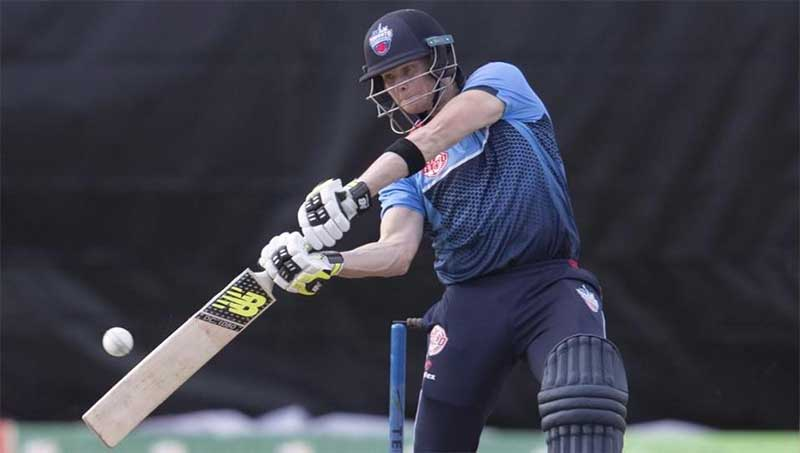 Steve Smith plays cricket in Canada