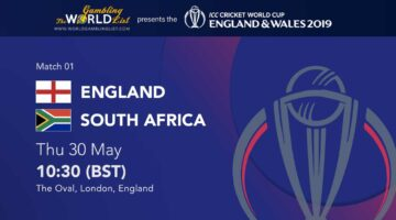 England vs South Africa ICC World Cup betting predictions