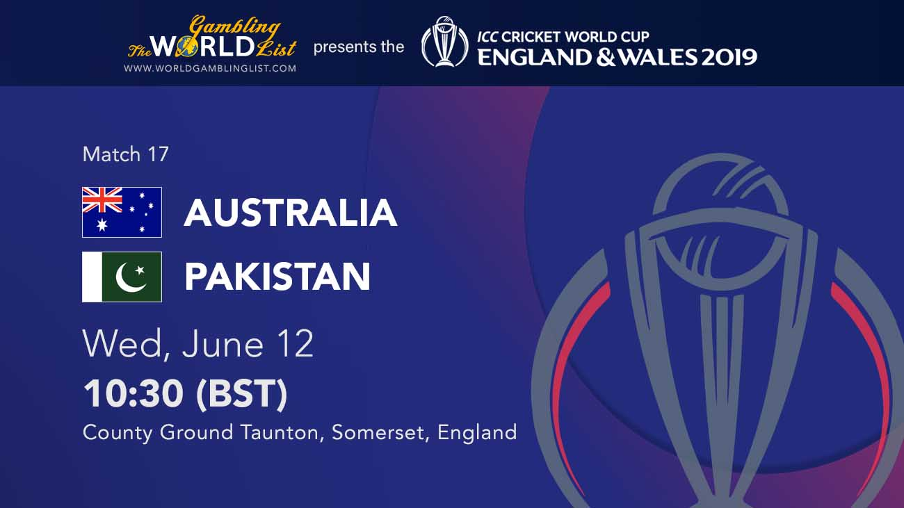 australia vs pakistan betting preview and free tips