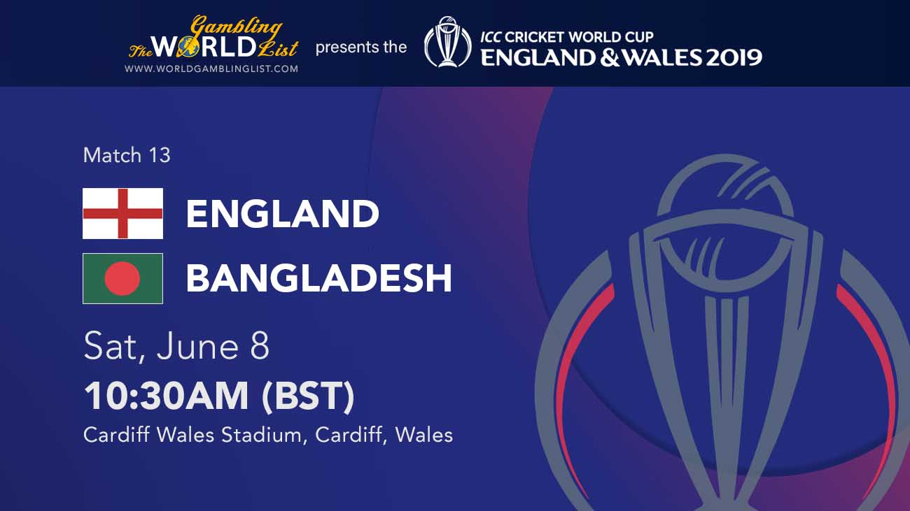 England vs Bangladesh betting predictions and preview