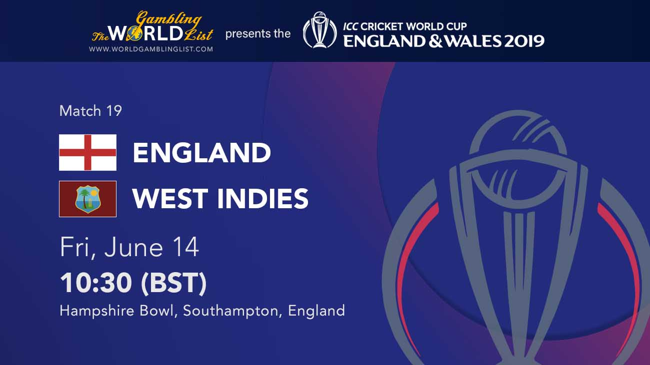England v West Indies betting preview