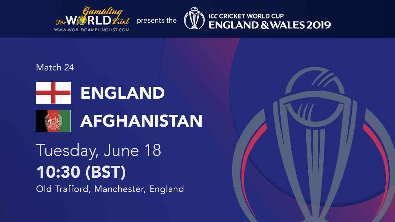 England vs Afghanistan tips and ICC World Cup predictions