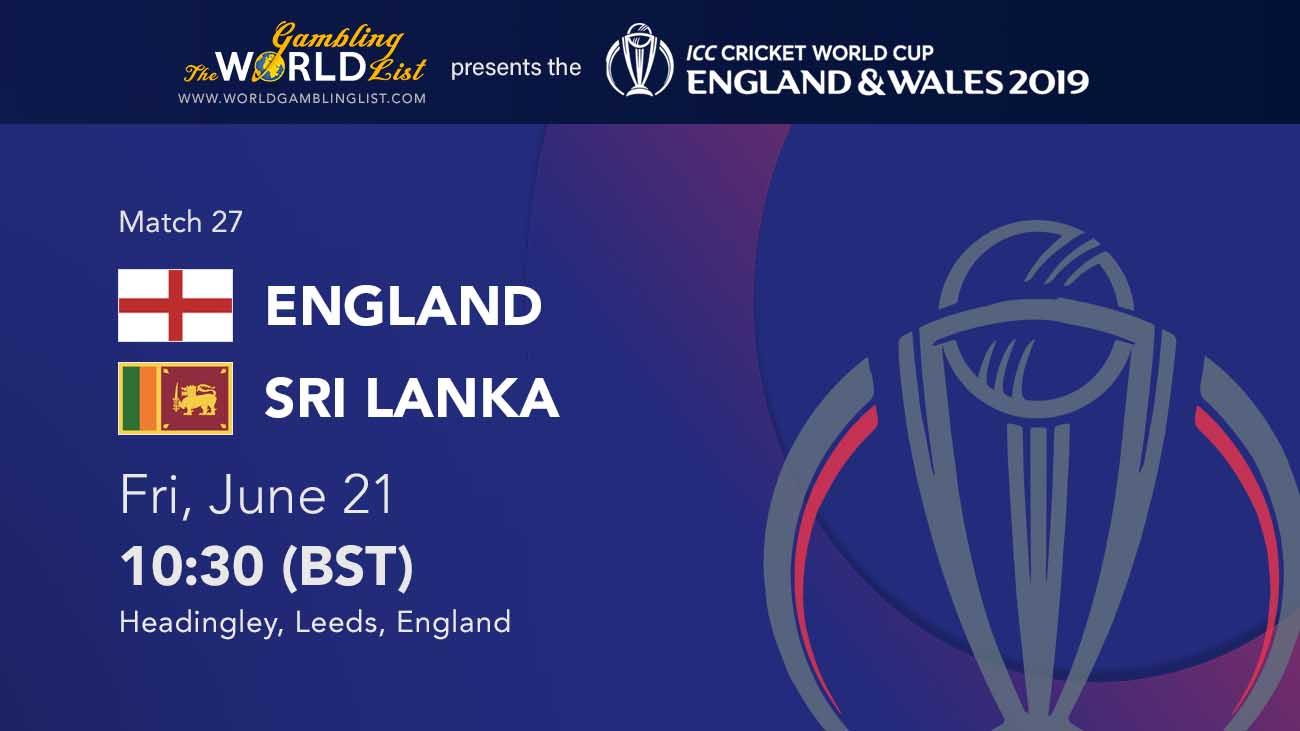 England vs Sri Lanka betting predictions