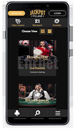 Jackpot Village mobile casino review