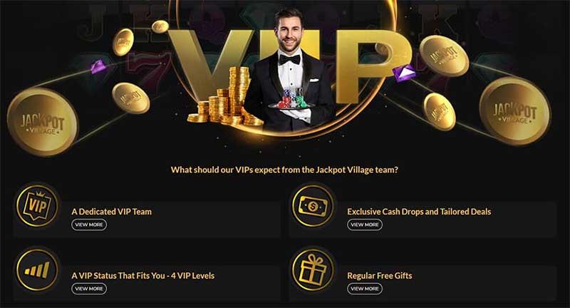Jackpot Village Casino has a great VIP program