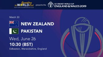 New Zealand vs Pakistan betting tips