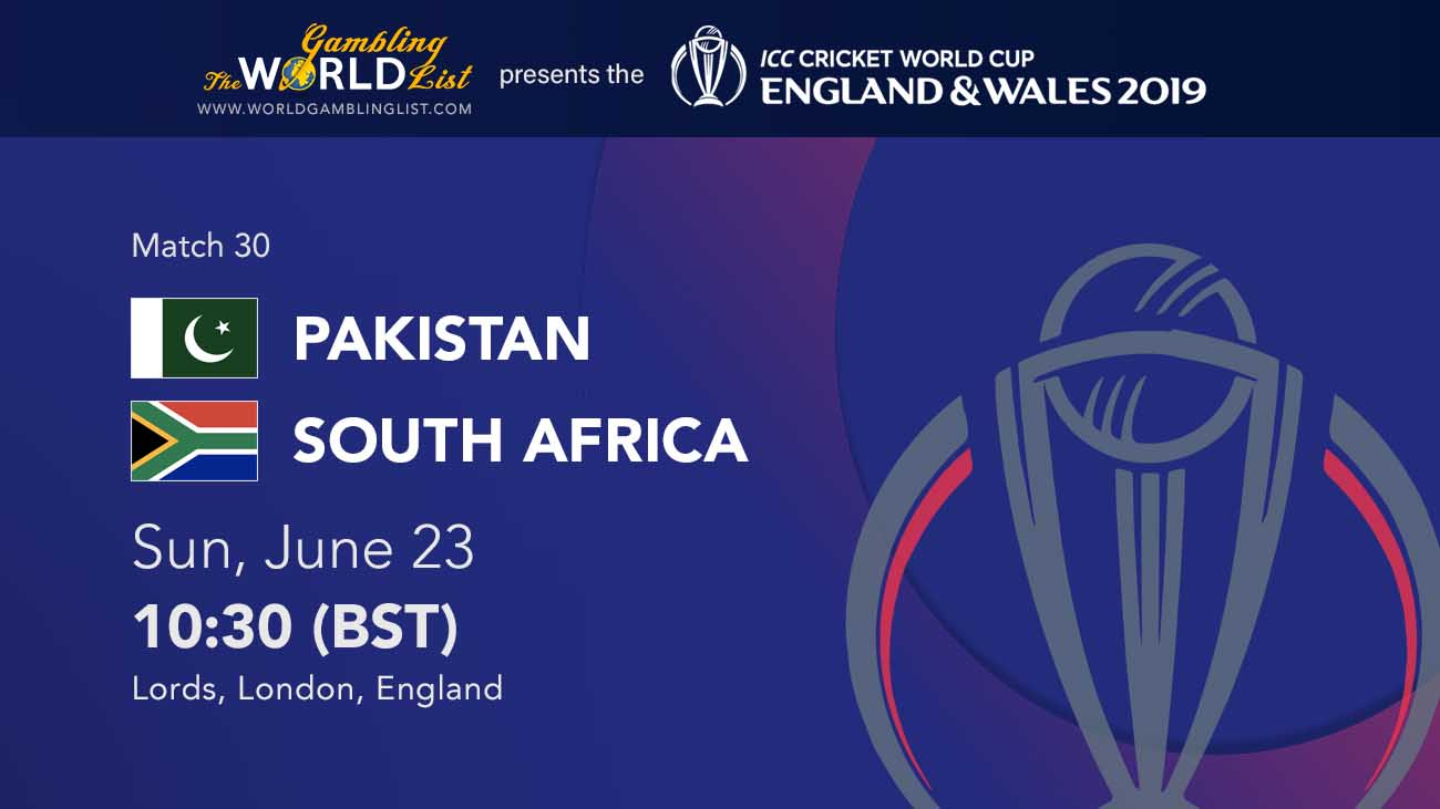 Pakistan vs South AFrica betting preview and free tips