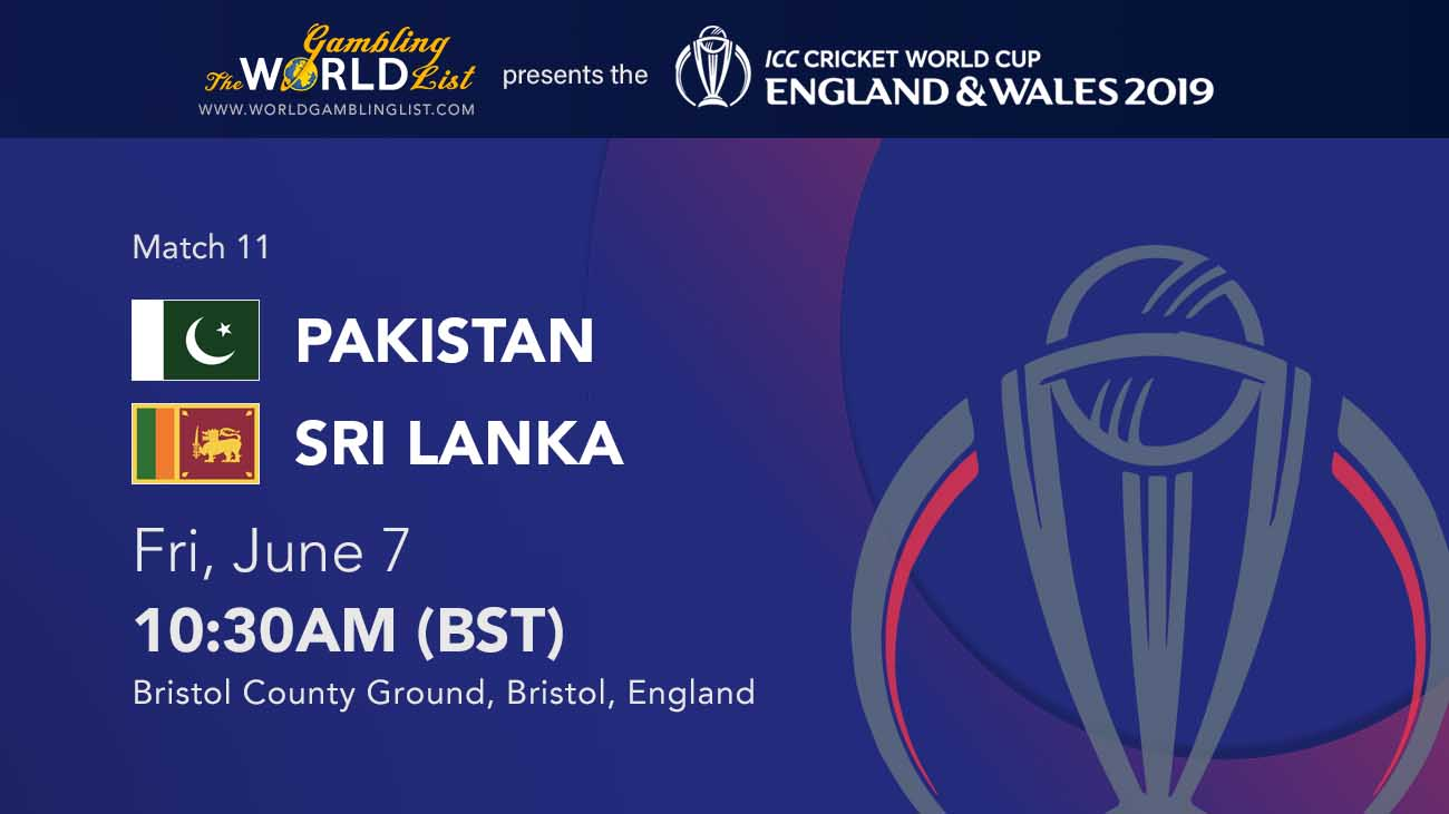 Pakistan vs Sri Lanka betting preview and free tips. Match 11/48 ICC World Cup.