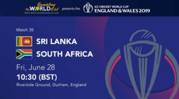 Sri Lanka vs South Africa betting predictions - cricket world cup
