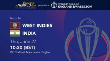 West Indies vs india predictions - ICC World Cup 2019