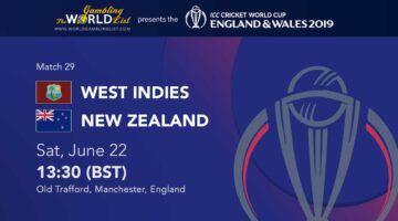 West Indies vs New Zealand betting preview and free tips