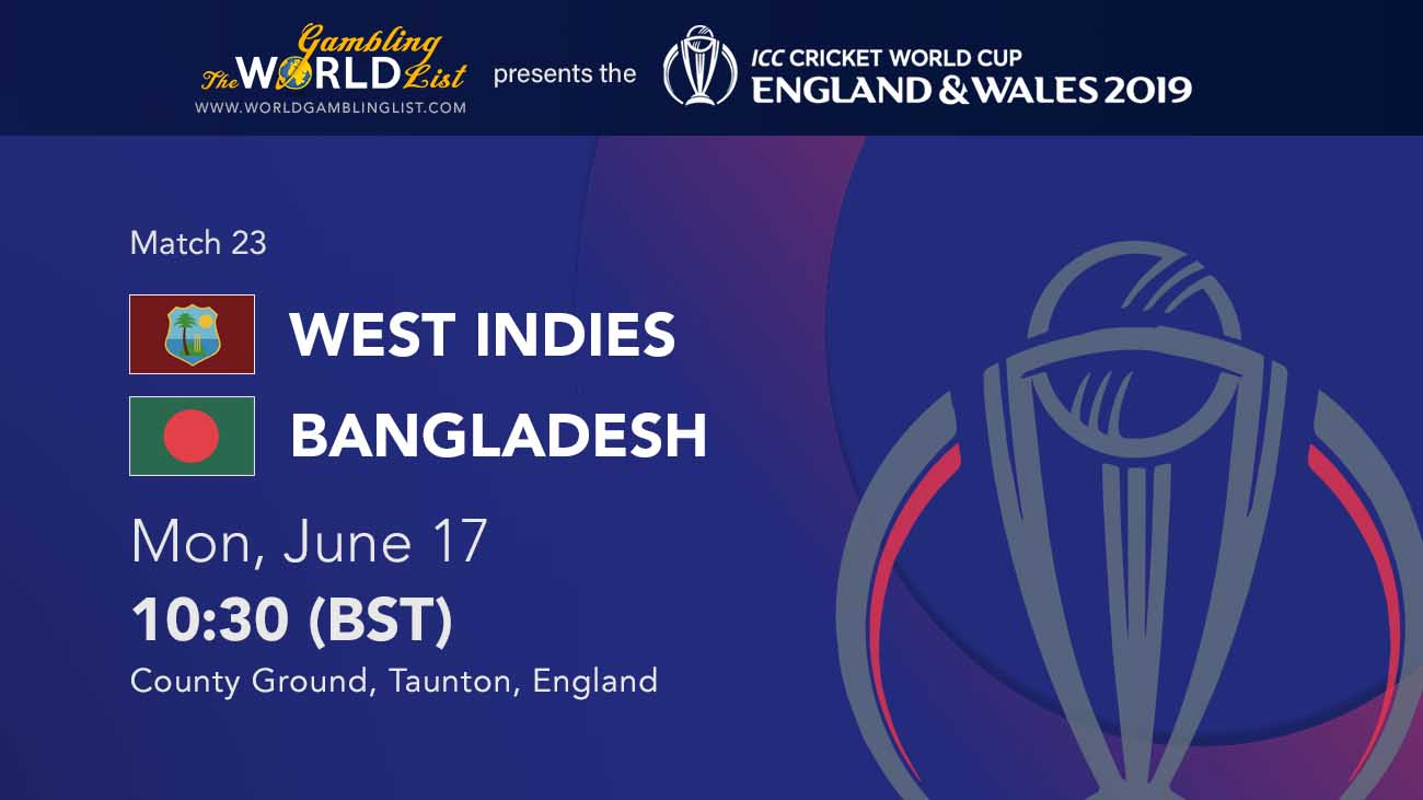 West Indies v Bangladesh betting preview and Chris Gayle tips