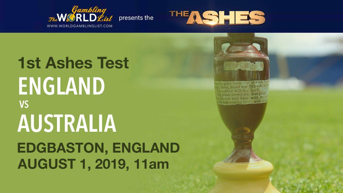 England vs Australia - 1st Ashes Test betting predictions