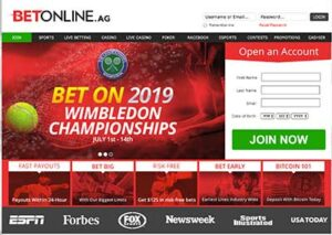 BetOnline.ag is a top betting site for Canadians