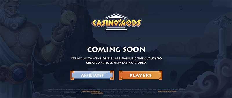 Casino Gods Sign up Bonus for Canadians