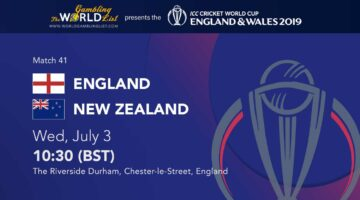 England v New Zealand prediction, ICC World Cup betting preview 41/48