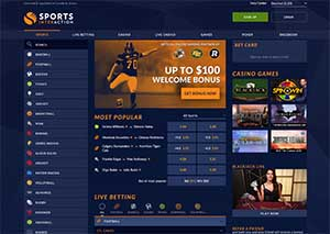 One of the betting sites licensed in Canada - Sports Interaction