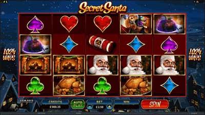 microgaming online slots game - Secret Santa 2019