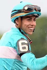 Irad Ortez is a highly-rated jockey