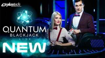 Playtech release Quantum Blackjack & live slots game