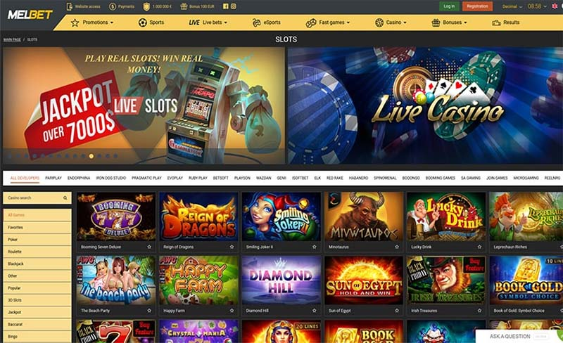 Melbet Casino review