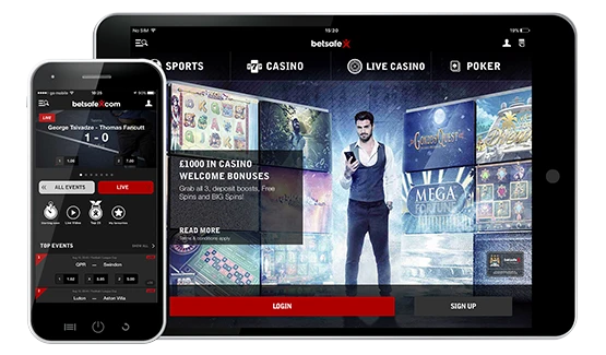 Betsafe mobile review