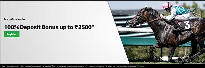 Betway horse racing India