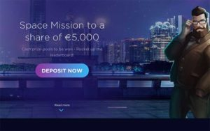 €5000 Genesis Casino Space Mission slots tournament now open
