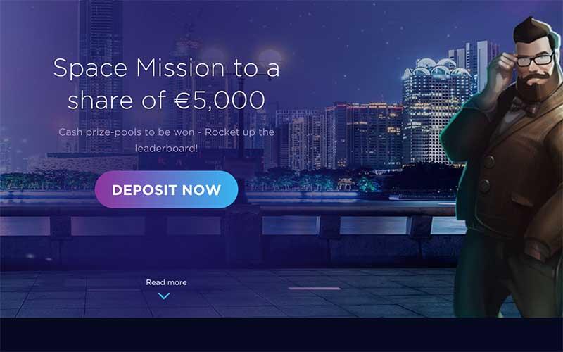 Genesis Casino Space Mission slots tournament