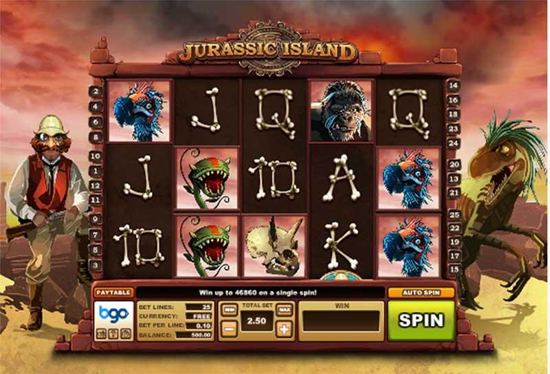 Jurassic Island is a slots game by BGO Studios