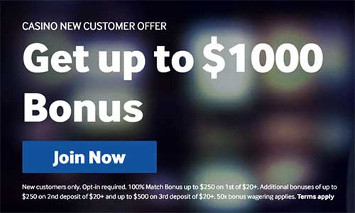Claim the Betway Casino sign up bonus for Canadians